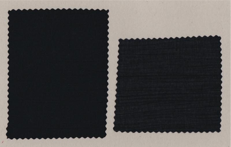 KOKKA Crinkle Voile black