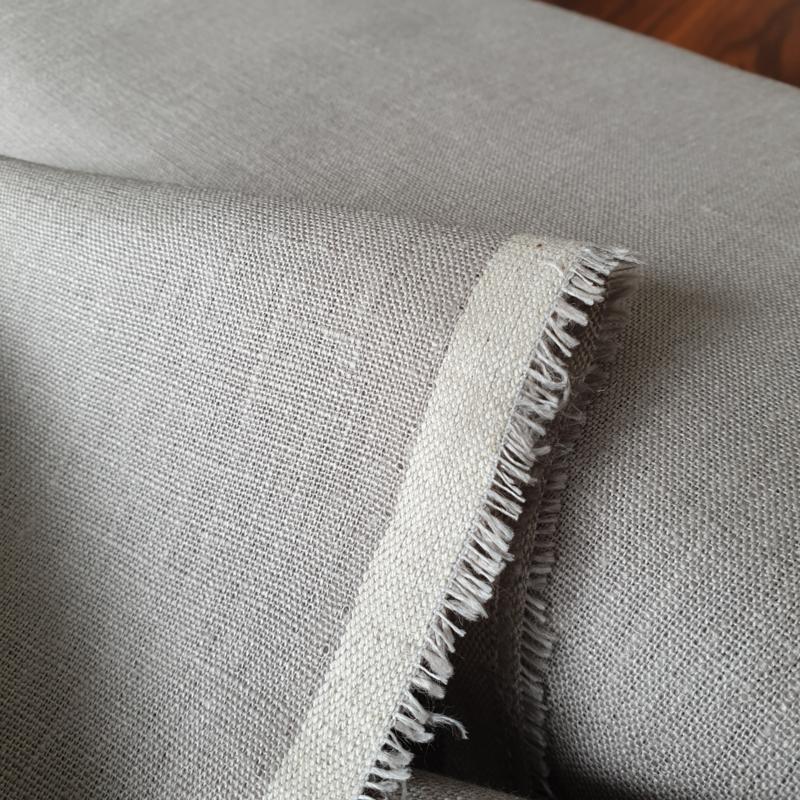 ATELIER MUSUBI Thick Linen pebble