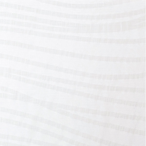 KOKKA Tsumiki Wavy Stripes white