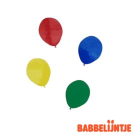 Carnaval: ballonnen stickers van statische folie! (herbruikbaar)