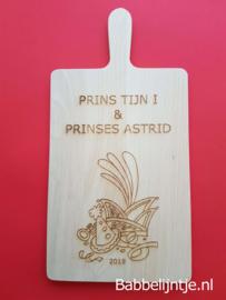 Kaasplank voor Prins Carnaval