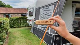 Flesopener/ Bieropener met caravan/ camper en eigen tekst