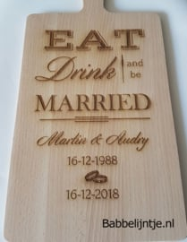 Kaasplank voor een jubileum (Eat, Drink and be Married)