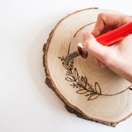 DIY pakket houtbranden