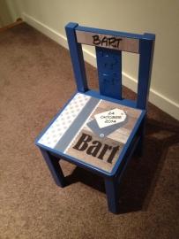 Geboortestoeltje voor Bart