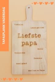 Tapas- / serveerplank voor papa of opa (Vaderdag tip!)