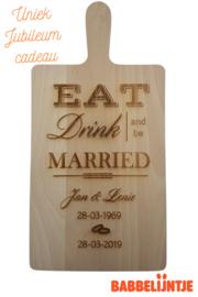 Kaasplank voor een jubileum (Eat, Drink and be Married)