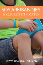 Meivakantie 2021: veilig op pad met onze SOS armbandjes!