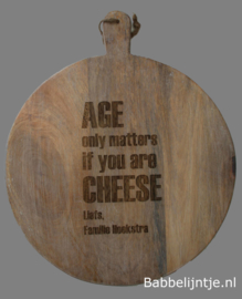Kaasplank: Age only matters if you are cheese