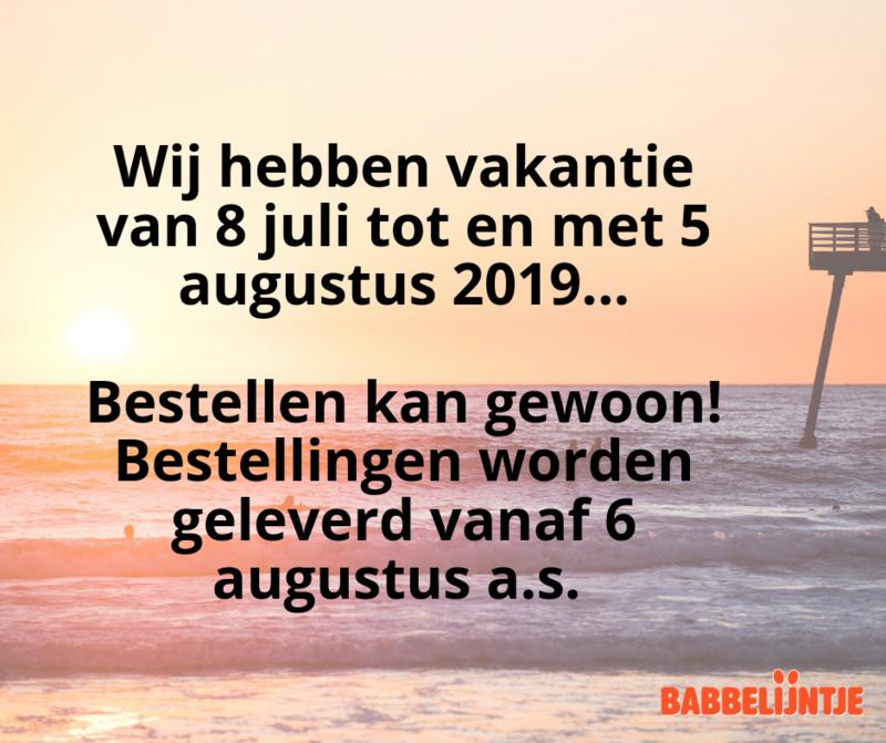 Vakantie 2019
