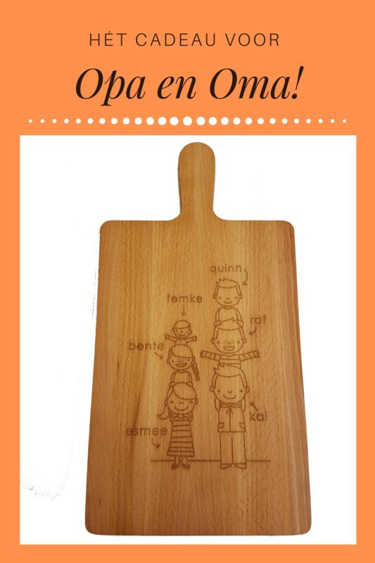 Een origineel cadeau voor opa's en oma's!