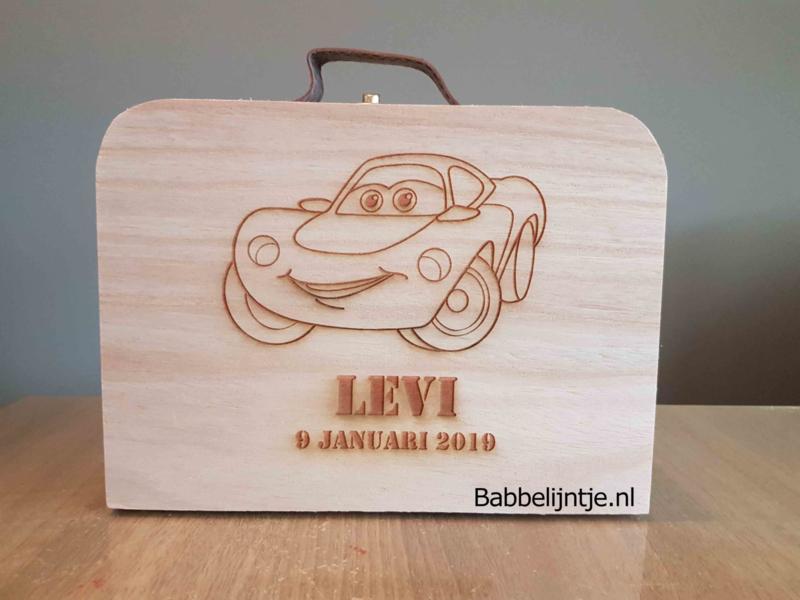 Geboortekoffertje Auto