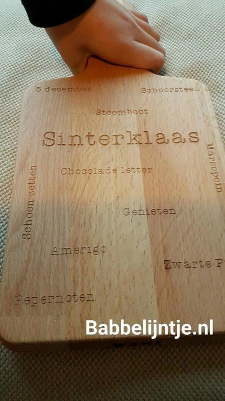 Sinterklaas plankje