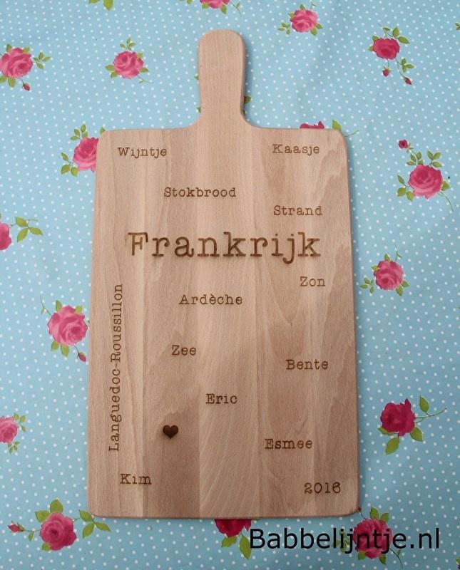 Kaasplankje/ Broodplankje Frankrijk