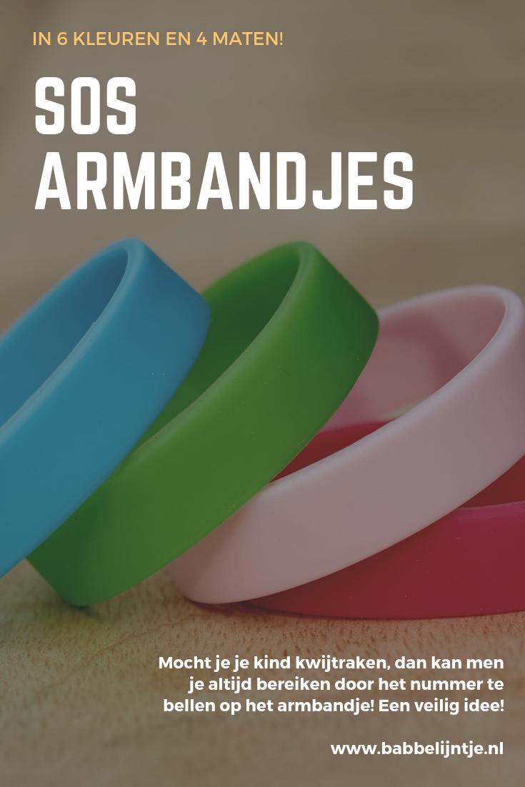 SOS armbandjes Babbelijntje.nl