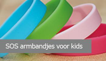 SOS armbandjes voor kids