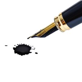 vlek van inkt verwijderen uit leder