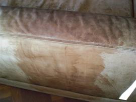 Fleck von Kalkränder aus Leder entfernen