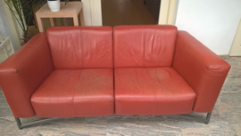 "Leather Harvink couch ""like new"""