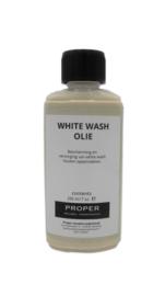 PMO olie voor hout met white wash effect