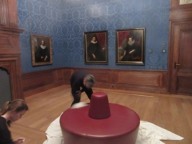 Museum, Reinigung und Pflege