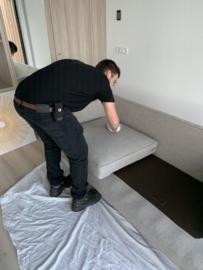 Projectonderhoud: nieuw hotel stoffen impregneren