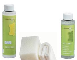 Combiset tegen krakend leder Keralux® milde reiniger en leerbalsem sound damping