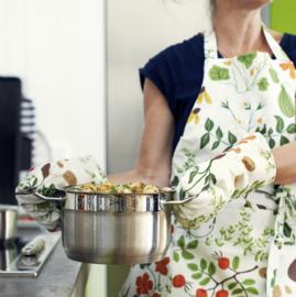 Klippan Kitchen Keukenschort leksand wit