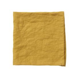 Servetten Linn geel, 2 stuks
