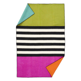 Klippan eco-wol Blanket for live Thin stripe