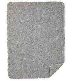 Wiegdeken Soft wool Baby grijs