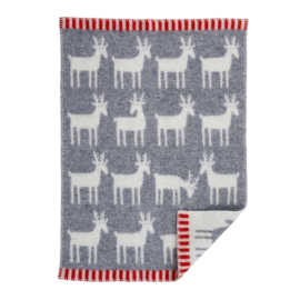 Wiegdeken Deer grey