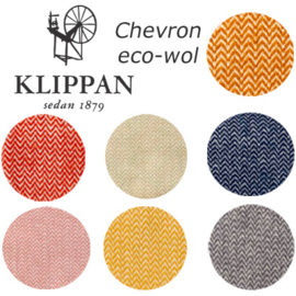 Klippan plaid wol Chevron
