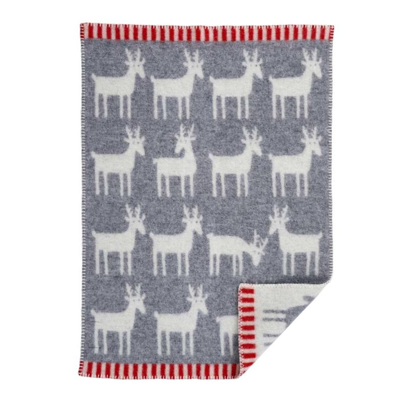 Wiegdeken Deer grey