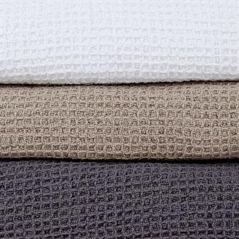 Klippan deken organic cotton wafel