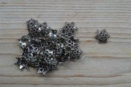 Metalen perlenkap ca. 17 mm pro 10 stück