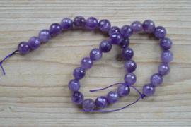 Amethyst facettierte runde Perlen 12 mm