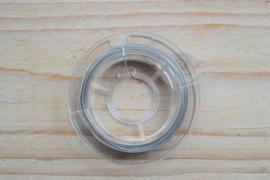 Rol gecoat staaldraad 10 meter 0,38 mm