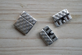 Metalen Magnetverschluss 20 mm ca. 24 x 24 mm pro stück