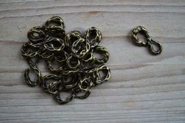 Bronskleurige Hangers en tussenstukken