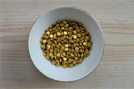 CM-06 Tiles 6 mm Matte Metallic Aztec Gold per 25 stuks