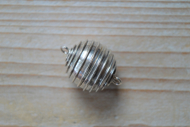 Sterling zilver magneetsluiting A ca. 20 mm