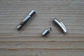 RVS Klemsluiting MAT 4 mm ca. 6 x 30 mm per stuk