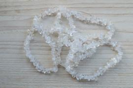 Strang Edelstein Naturschliff Bergkristall