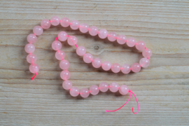 Rozenkwarts ronde kralen 10 mm