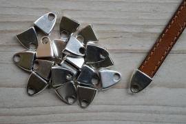 Metalen eindkap 10 mm ca. 12 x 14 mm per stuk