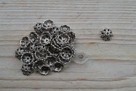Metalen kraalkap ca. 14 mm per 10 stuks