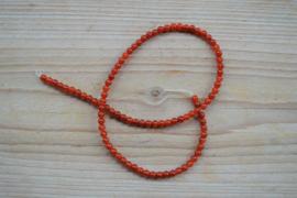 Karneol runde Perlen 4 mm