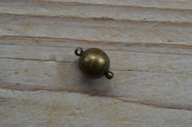 Bronskleurige Bolmagneet diameter 12 mm