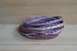 DIY Pakket Armband XL C Paars/Lila